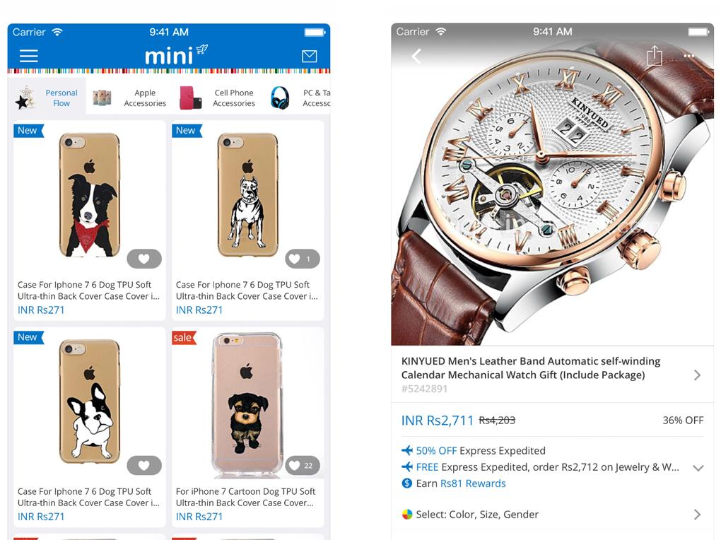 Mini si differenza dalle altre App perché è nata con l obiettivo di vendere  prodotti stravaganti 14f3b7586c98